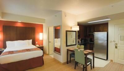 Residence Inn Beverly Hills Studio Queen Room 3D Model
