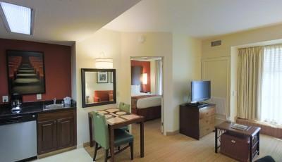 Residence Inn Beverly Hills One Bedroom Suite 3D Model